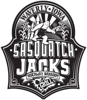 Sasquatch Jacks Hideaway Barroom & Grill Logo